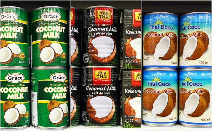 Mleko kokosowe jakie wybrać? Które jest najlepsze? Wpis przedstawia najpopularniejsze marki oraz ich skład, a także rekomendację.