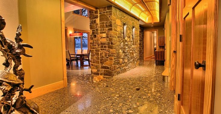 Polished Concrete, River Rock - Rosebud Concrete in Myerstown, PA