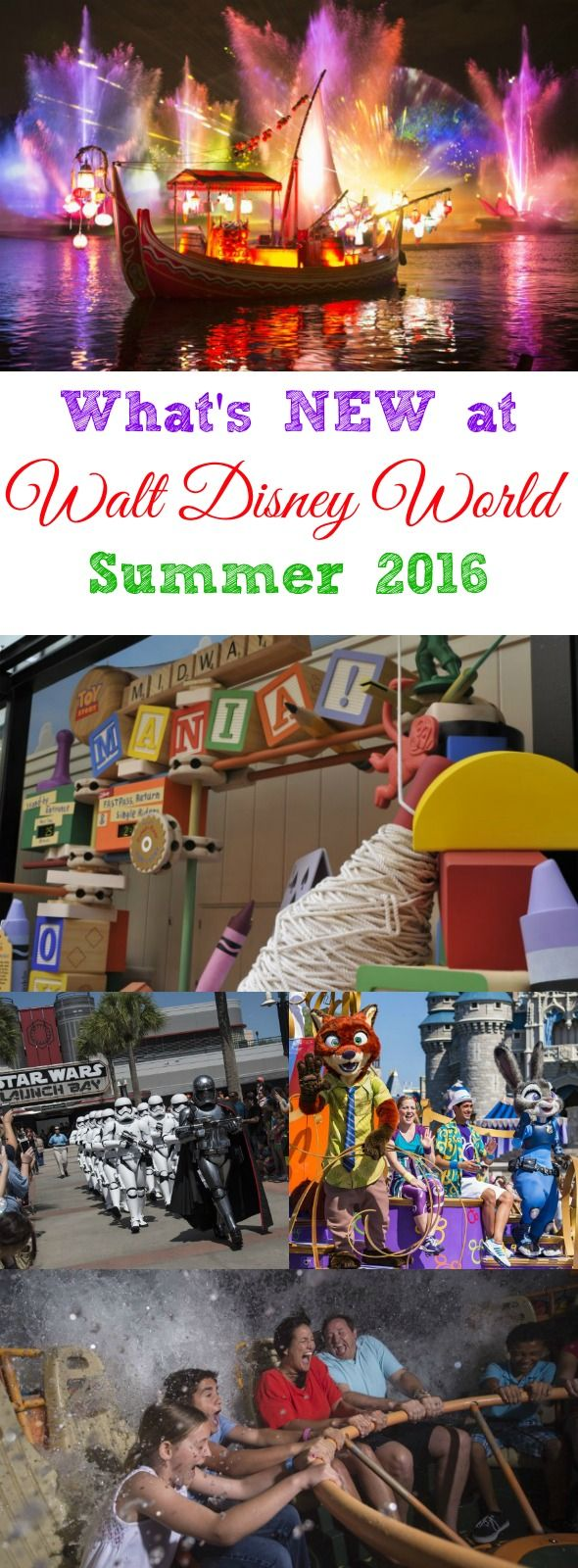 Exciting News for Walt Disney World Summer 2016