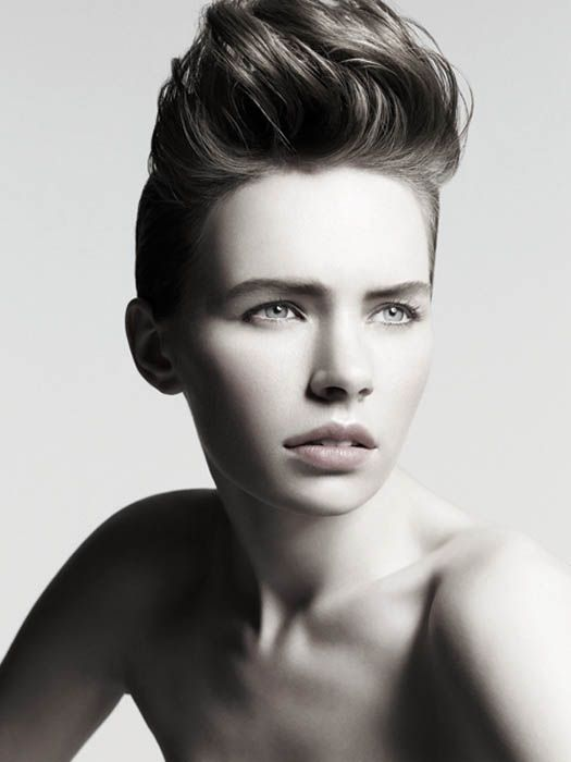 Wavy short hairstyle by Windle and Moodie. http://www.pinterest.com/windleandmoodie/short-hair-styles/ #windleandmoodie #shorthair