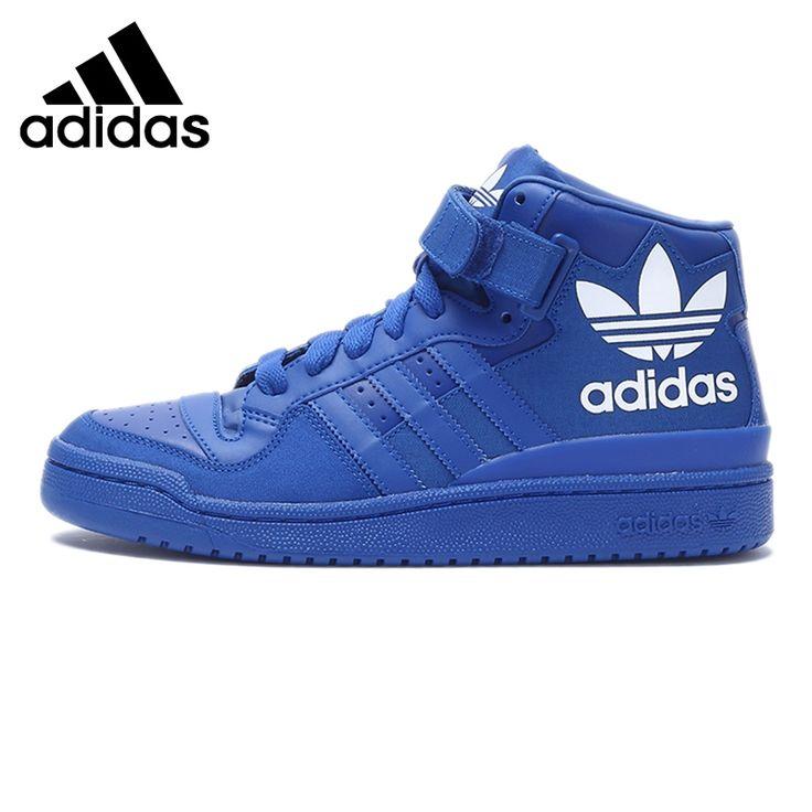 Original Nouvelle Arrivée Adidas Originaux Hommes de Haute Top Planche À Roulettes Chaussures Sneakers