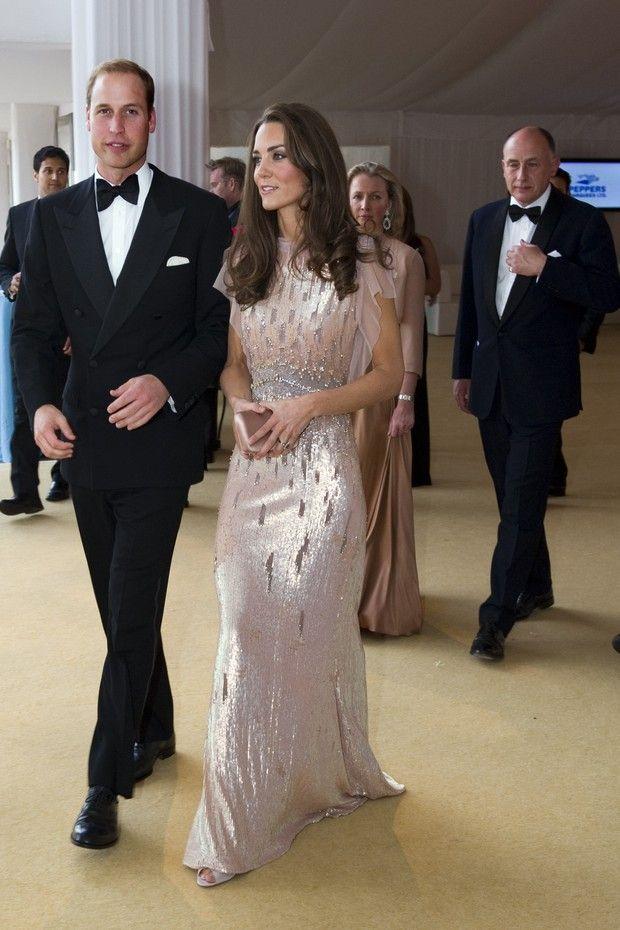 Vestido usado pela Duquesa de Cambridge na última quarta-feira (22.06) já havia sido usado em 2011 (foto) (Foto: Getty Images)