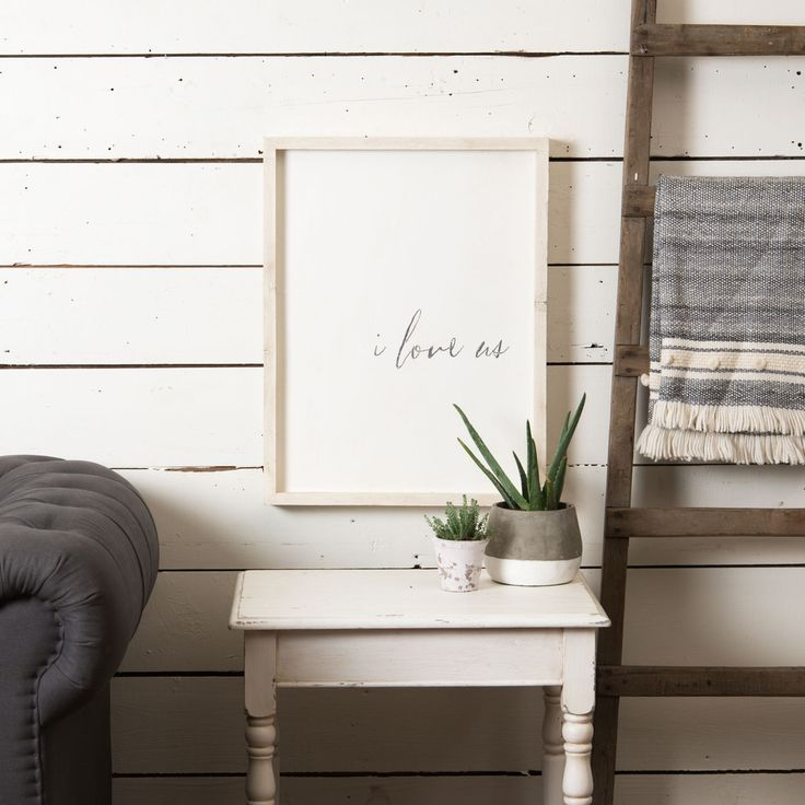 """I Love Us"" Sign 