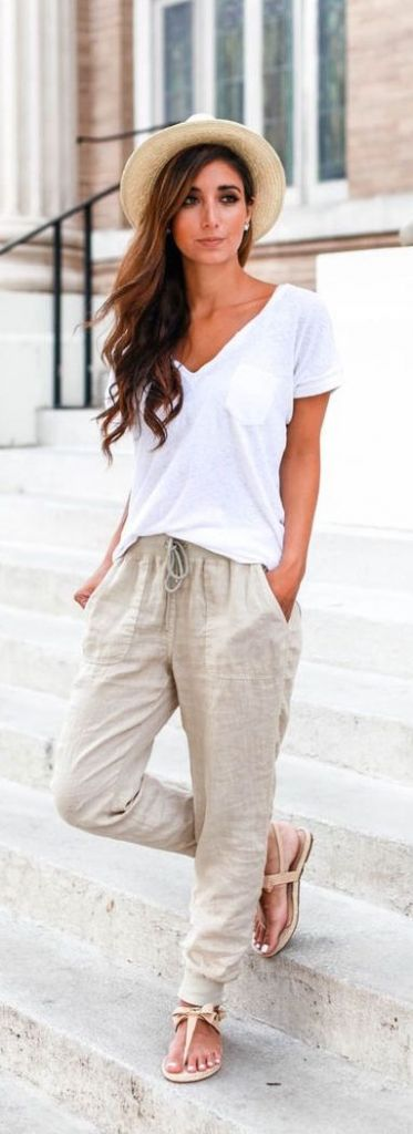 #summer #fashion / casual chic
