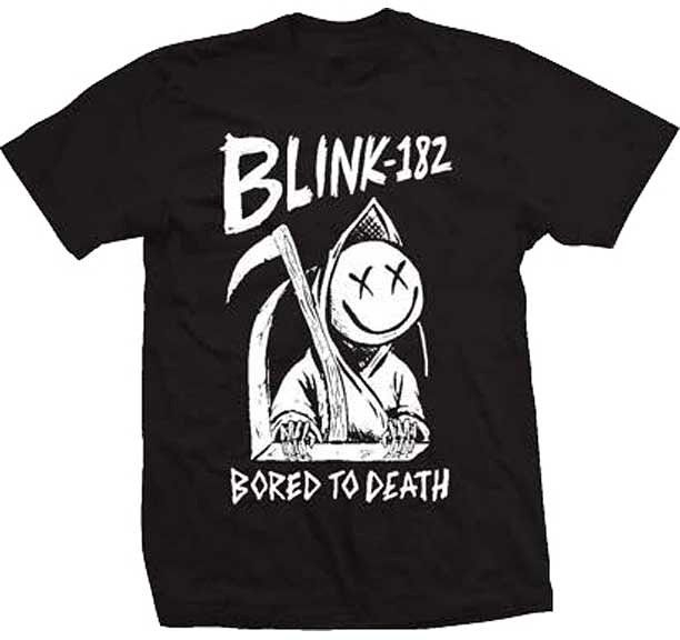 Blink 182 Bored To Death T-shirt - http://ift.tt/2gFQ3JB - Band Tees