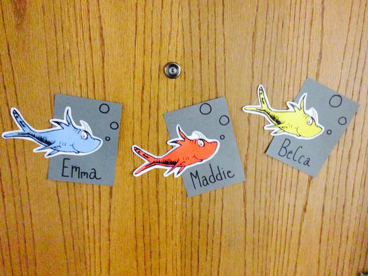RA Door Decs - Dr. Seuss Theme by Erica Cain