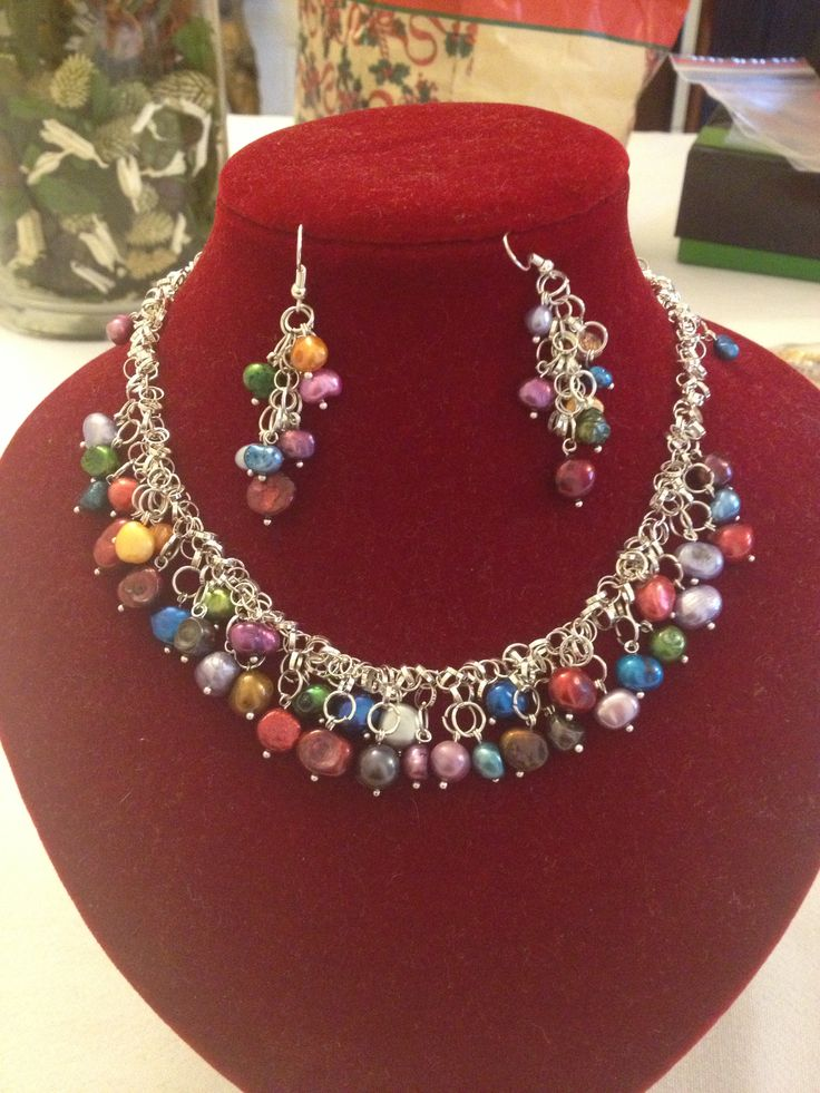 Collar De Perlas Cultivadas Collares Lupita Pinterest