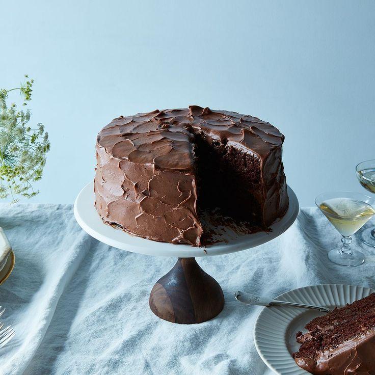 Anita Shepherd's Vegan Chocolate Birthday Cake With Super-Fluffy Frosting Recipe on Food52 recipe on Food52