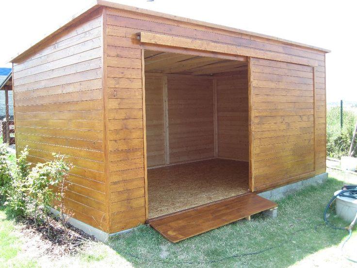 Zahradní domky a chaty | do 12 m² | Zahradní domek RIDER - 300x300 | Dřevostavby od A po Z