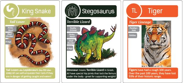 Kickstarter campaign offering free evolution card game for educators