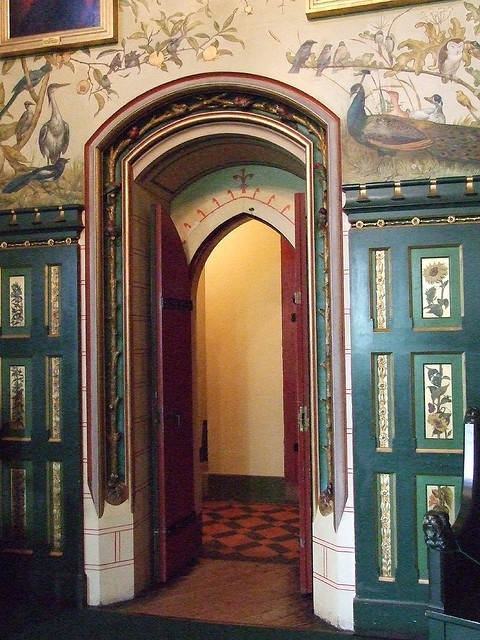 Castle Coch near Cardiff, Wales - 19th century Gothic - Doorway (photo by duckiemonster)