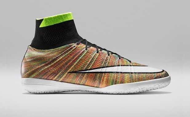 Nike MercurialX Proximo Featuring Woven Multicolor Flyknit | Soccer Cleats 101