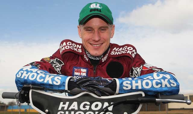 Great skipper, Lee Richardson with the Lakeside Hammers Speedway #RICO