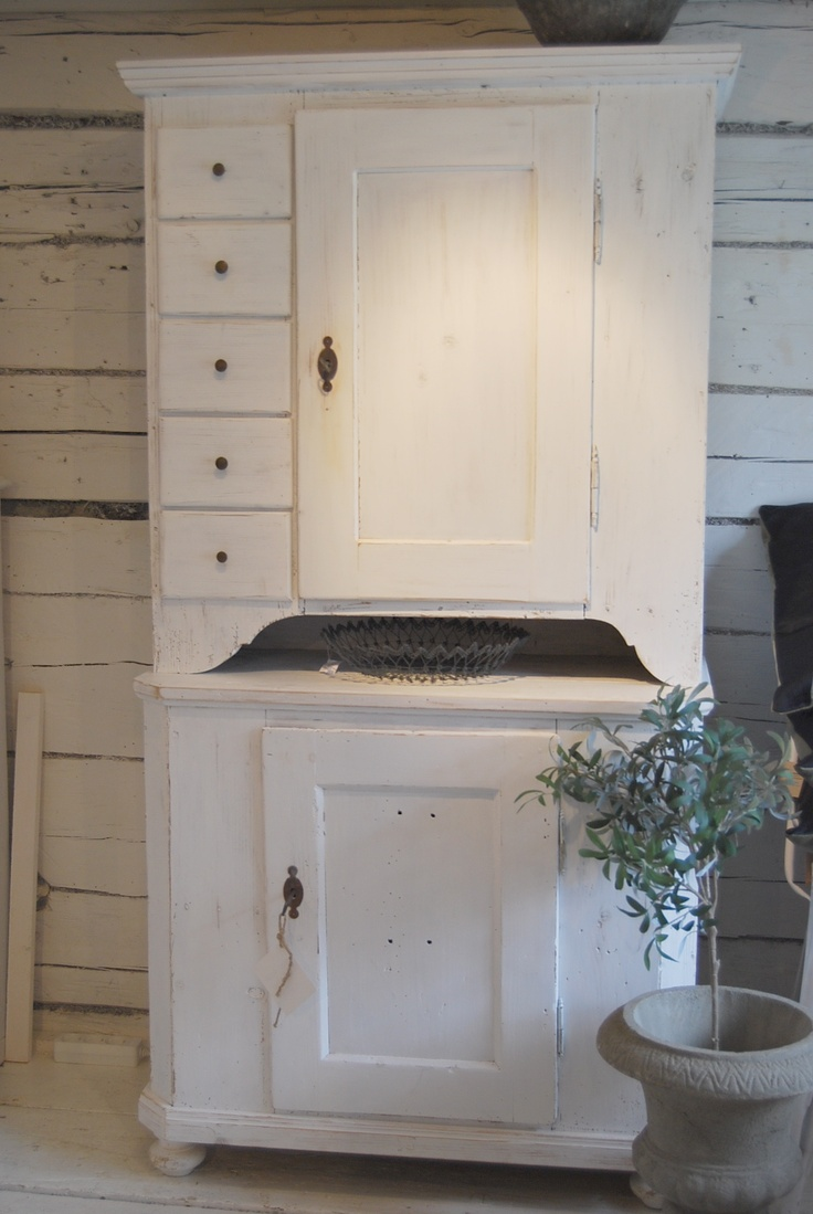 ♕ freestanding French kitchen cabinet <3<3<3