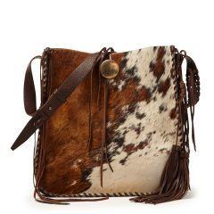 Spotted Haircalf Hobo Bag - Ralph Lauren New Arrivals - RalphLauren.com