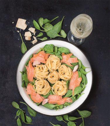 One-Pot-Pasta_Spinat-und-Lachs