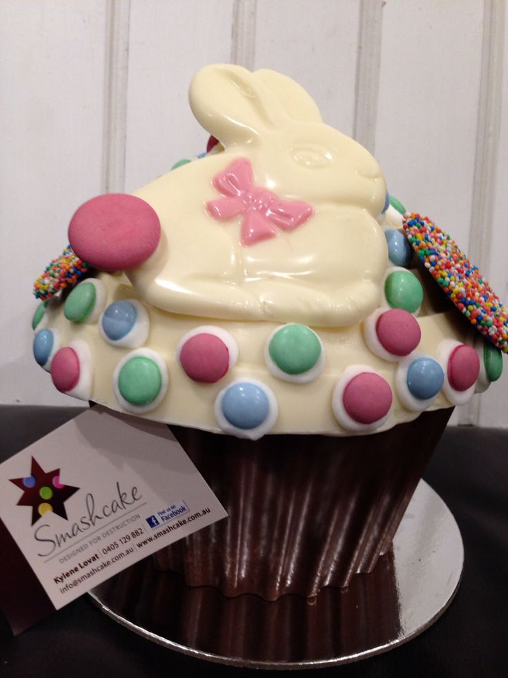 Easter Bunny Smashcake Piñata