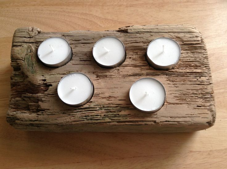 Driftwood TeaLight Table Piece