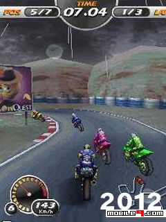 3D Bike Racing for Mobile (Symbian 3rd and Java) Free Download - Softchase