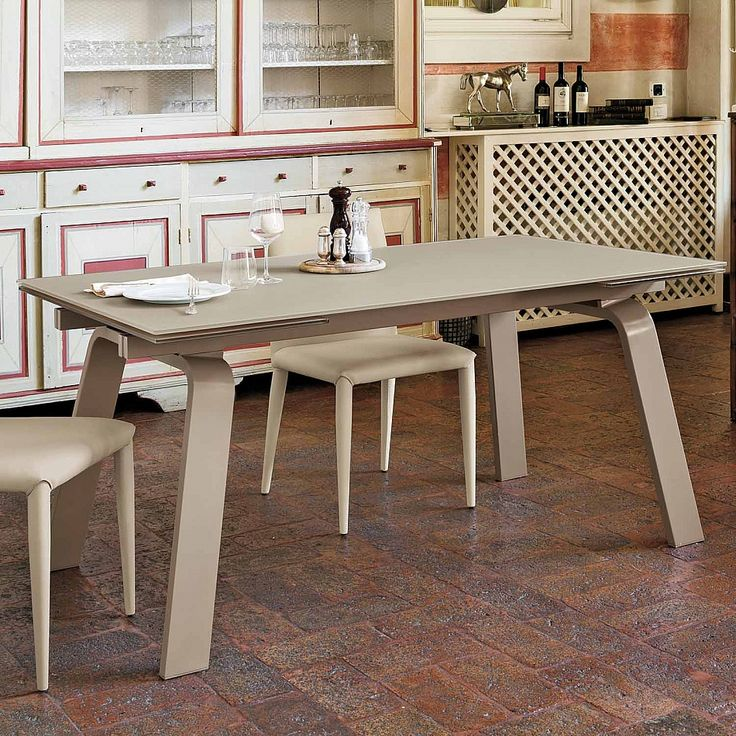 Extendable table Marte Italian interior design