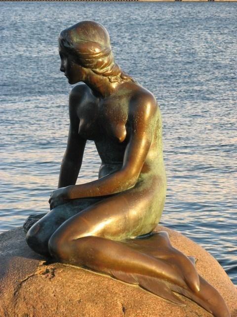 Den lille havfrue ( the little mermaid), Copenhagen