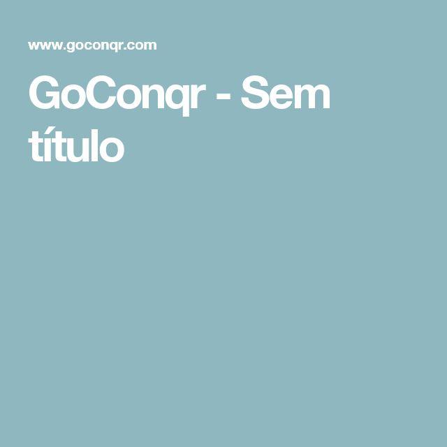 GoConqr - Sem título