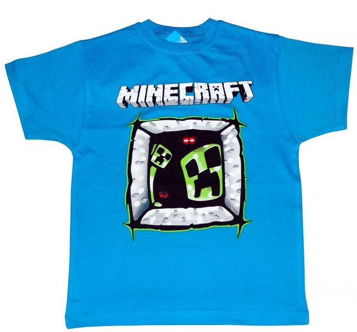 T-shirt dla gracza MINECRAFT'a r.146 PL - NOWOŚĆ