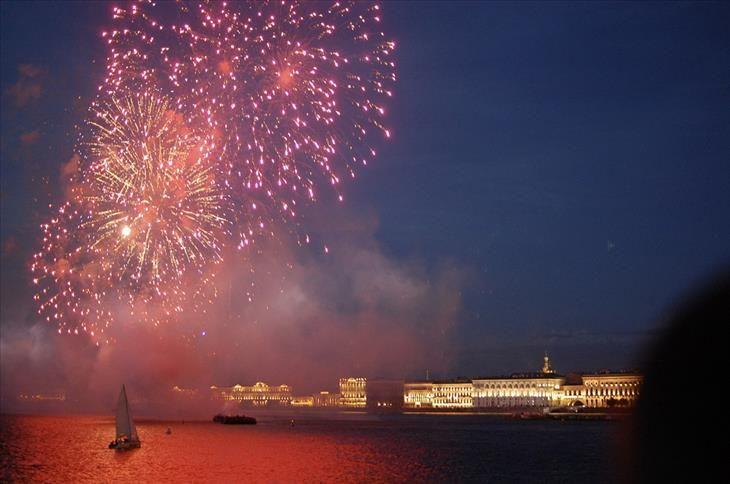 15 of the World's Top Summer Festivals and Events   White Nights Festival, St. Petersburg, Russia