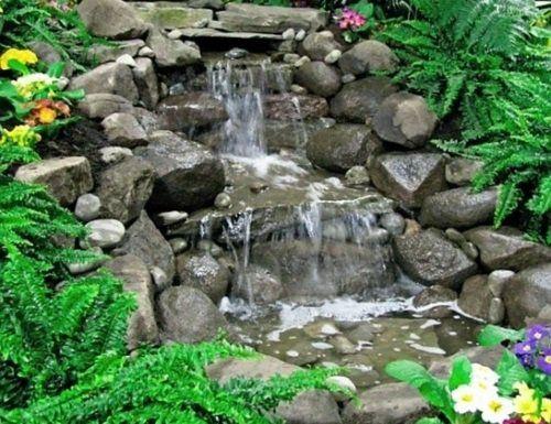 25 best ideas about fontaine jardin on pinterest for Cascade bassin jardin