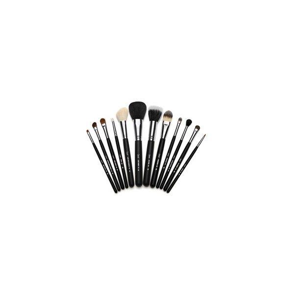 Sigma Brushes os pincéis da Sigma ($89) ❤ liked on Polyvore