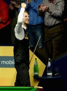 World Snooker Championship 2013: Judd Trump wins epic thriller over Shaun Murphy