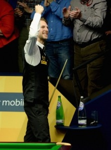 World Snooker Championship 2013: Judd Trump wins epic thriller over Shaun Murphy