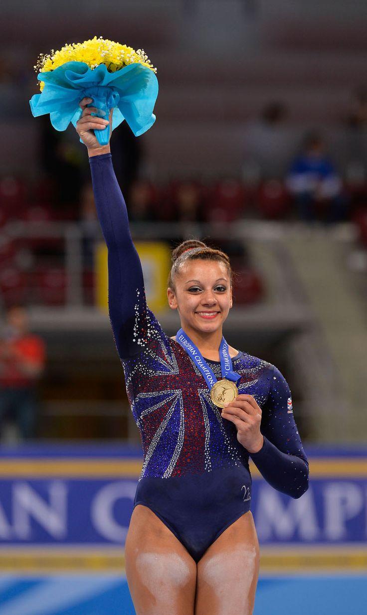 Becky Downie - Women's Gymnastics.