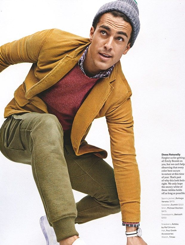 Clint Mauro for GQ Style by Tom Schirmacher
