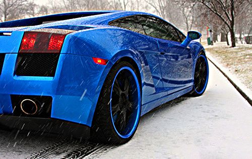 blue lamborghini gallardo with matching black wheels i can work with this things that go vroom pinterest black love it is and gifts - Lamborghini Black And Blue