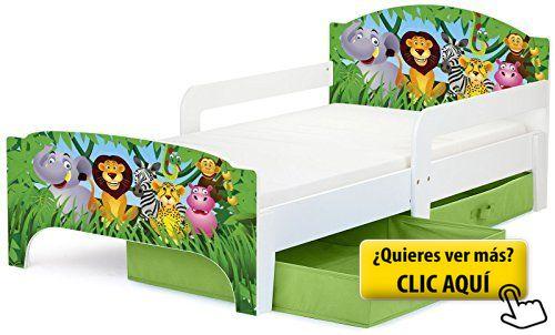 Cama para niños, con colchón 140/70 cm y... #cama