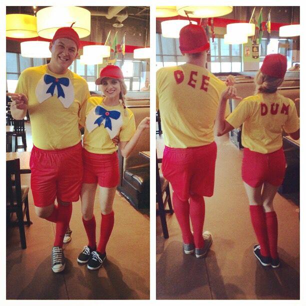 Tweedle Dee and Tweedle Dum costumes