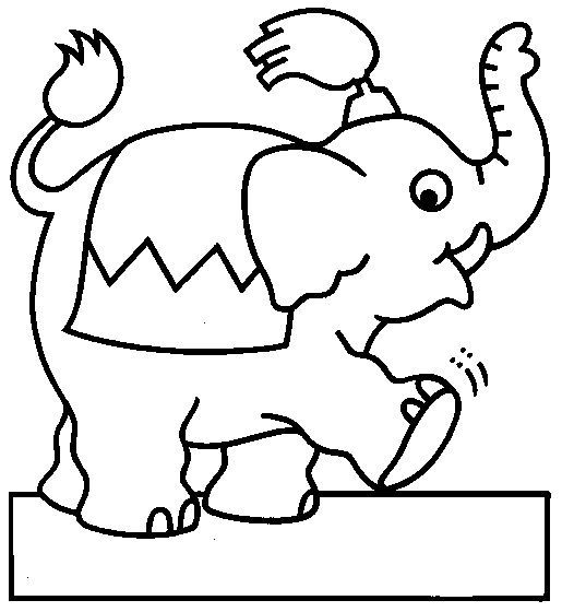 Circus Coloring Pages 23