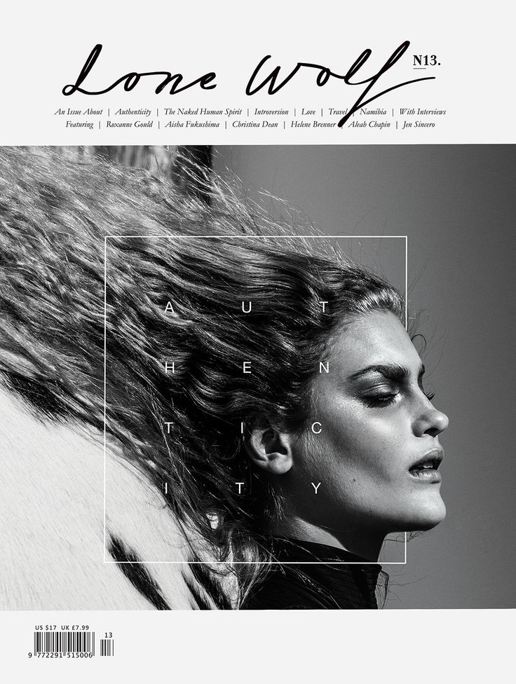 Lone Wolf Magazine, Vol.13, The Authenticity Issue