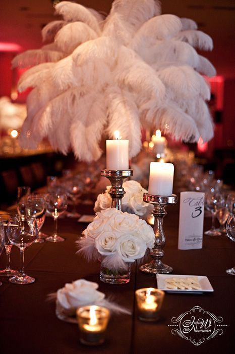 Feathers idk why i really like this wedding ideas