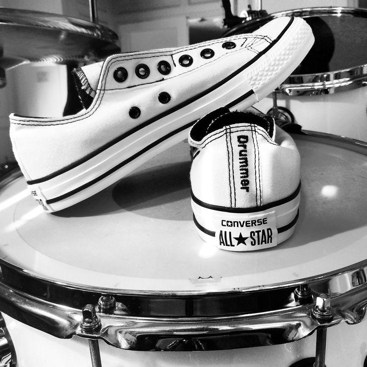 Michelle Sandlin's Drummer Shoes - Chuck Taylor AllStars