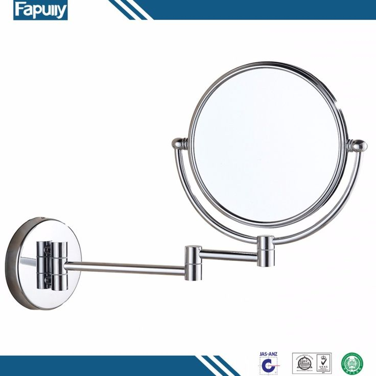 Fapully High Quality Extendable Mirrored Bathroom Wall Mirror For Home Decor