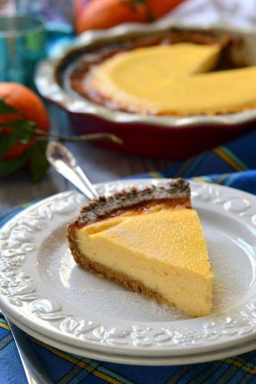 Szicíliai narancsos sajttorta recept