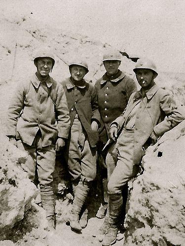 Verdun 1917 - Avec son ami Gravier en Foncé , tenue des cyclistes | Flickr - Photo Sharing!
