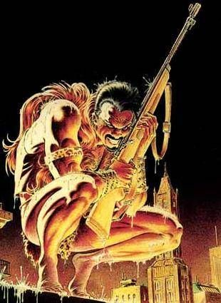 Kraven the Hunter, one of my favorite Spidey villains.