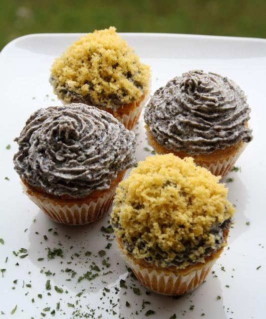 Cupcakes radicchio e funghi