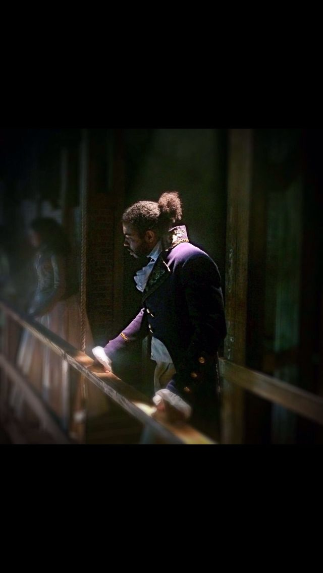Daveed Diggs as the Marquis de Lafayette in Hamilton