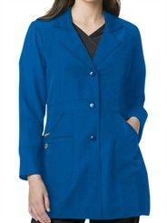 Style # 7004: ROYAL: WonderWink Four-Stretch Women's Performance Lab Coat
