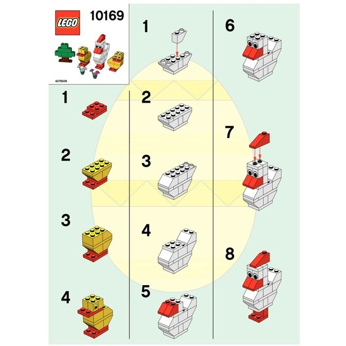 108 best lego images on pinterest lego legos and birthdays for Model chicken set