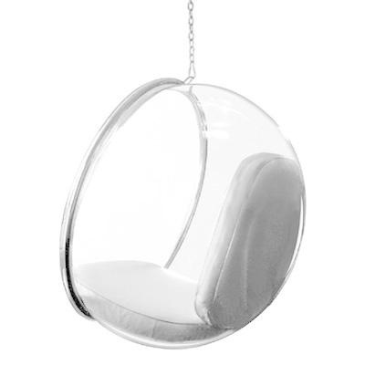 Bubble Chair by Eero Aarnio (1968) produced by Adelta  _